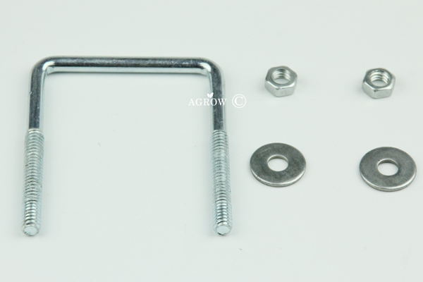 Square Galvanized U Bolts