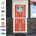 White Prehung Heritage Steel Security Wooden  Door
