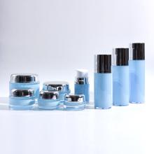 30ml-120ml Cilindro plástico acrílico garrafas Airless com frascos de acrílico redondo coleção
