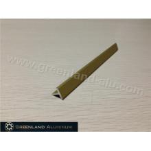 Matt Gold Aluminum T Shape Transition Tile Trim Profile