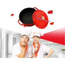 safety eco-friendly round cast iron enamel casserole