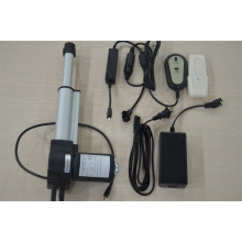 Electromechanical linear actuator for massage chair