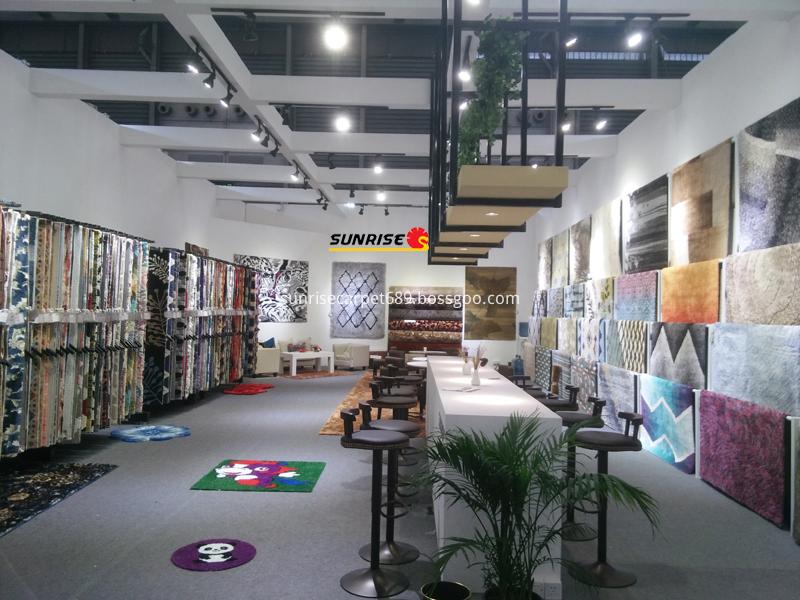 Domotex Asia Fair of SUNRISE CARPET