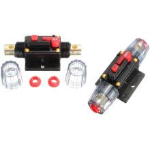 Постоянного тока 12В/40А автомобиля стерео аудио Выключатель Встроенный предохранитель протектора