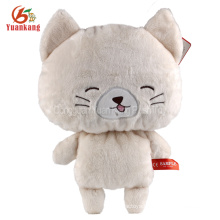 ICTI lovely cheap plush CAT toys stuffed cat wholesale plush stuffed toys