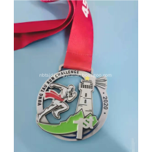 Zinc Alloy 75MM Diameter Metal Medal