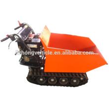 2015 Großhandel 9hp 500kgs Handbuch kippen, Mini-LKW Kipper, manuelle Kipp Crawler Mini Dumper, manuelle Kipp Mini Track dumper