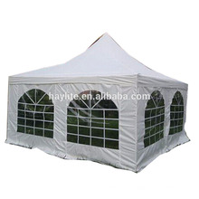 Tienda al aire libre barata del partido de la tienda de la pagoda de la tienda del PE o del PVC