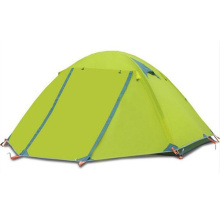 Doppelschicht-professionelles Outdoor Camping Zelt 2-3 Personen Zelt