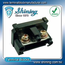 TE-080 Schienenmontage Gelenk Typ 600V 80 Amp Schrank Kabel Stecker