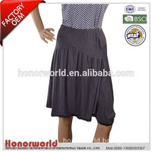 professional supplier BSCI approved embroidered denim skirt