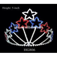 Fábrica de apariencia fina directamente tiara de muñeca y coronas