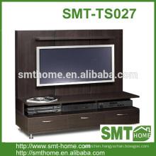 Commercial flat pack melamine MDF PB cheap tv bench