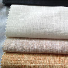 70% Baumwolle 30% Leinen Stoff Slub Muster Stoff Leinen Blend Baumwolle