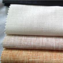 70% coton 30% Tissu de lin Slub Motif en lin Mélange en coton