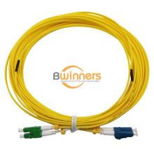 Cable de puente LC / APC-LC / UPC SM Duplex 0.15dB 2.0mm