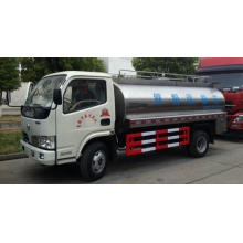 Camion-citerne d'eau de lait en acier inoxydable Dongfeng 4x2