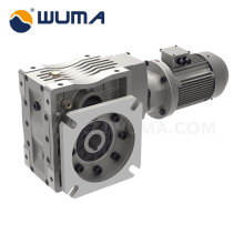 WAH75C Hypoid Gear Reducer with output shaft
