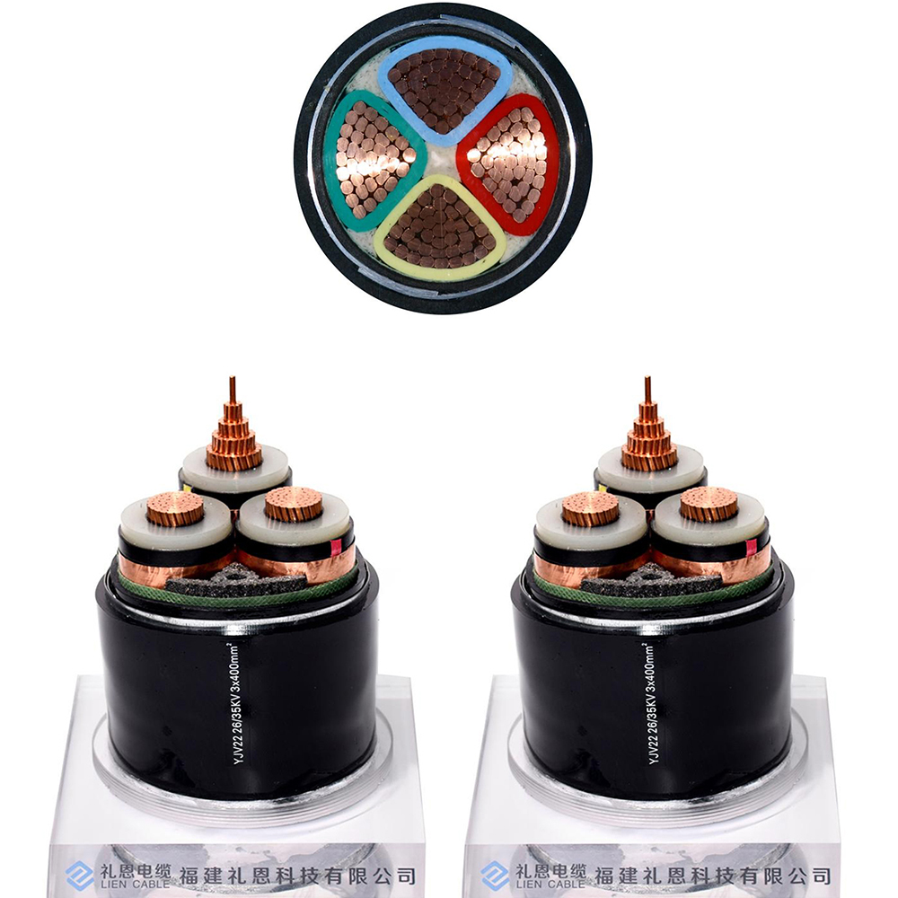 Fire Resistant Xlpe Insulated Armoured Shielded Power Cables