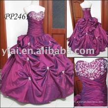 2011 fabricação de frete grátis de alta qualidade com contas de renda vestido de baile vestido de bola sexy 2011 PP2461