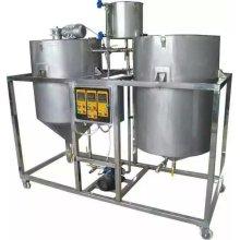 250L / Hr Нефтеперерабатывающий завод для арахисового нефтеперерабатывающего завода
