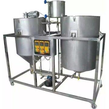 Máquina de refinería de aceite 250L / Hr para refinería de aceite de cacahuete