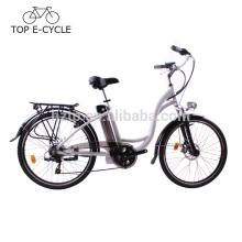 Bicicleta eléctrica al por mayor del estilo de la ciudad con ebike potente eléctrico de la bicicleta 10V del motor 36V 250W