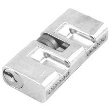Brazil Cylinder Lock, Key to Key, Zinc Alloy Material