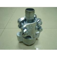 Aço, braçadeira de bloqueio maleável do ferro / braçadeira de mangueira do bloqueio