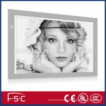 Digital quadrado quente vender LED placa de cópia para desenho e animação de rastreamento