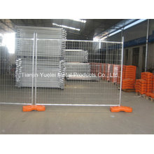ASTM4687-2007 42 Micron Galvanised Temporary Fence for Export/Hot Galvanized Temporary Fence/Austrlian&New Zeland Hot-Dipped Galvanized Temporary Fence