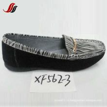 Последние женские туфли-лодочки Досуг кожаные ботинки (XF562-3)