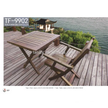 hot sale garden teak wood dining table and chair TF-9902