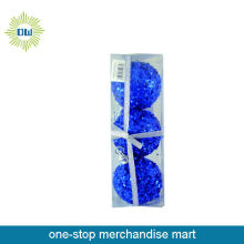 Promotional 3pc Christmas Ball Blue