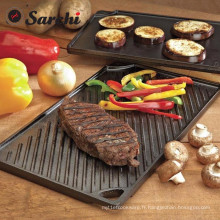 BBQ Durable Double Play Griddle Pan.46 * 26 * 1.5cm