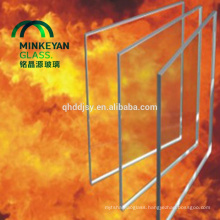 8mm10mm12mm15mm19mm fire resistant glass panel with certificate