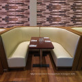 Commercial Interior Uptop Wooden Restaurant Table and Chair Set (SP-CS337)