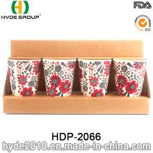 New Design Biodegradable Organic Bamboo Fiber Cup (HDP-2066)