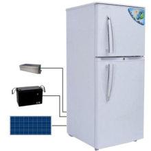 Réfrigérateur et réfrigérateur solaire à double porte avec panneau solaire