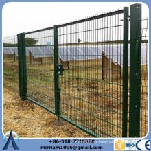 Malla de alambre fina revestida PVC de la fábrica 50 * 200m m