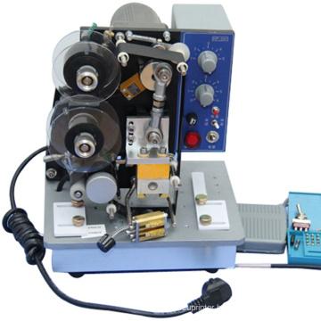 HP-241 Semi-Automatic Hot Stamping Date Coding Machine use thin card
