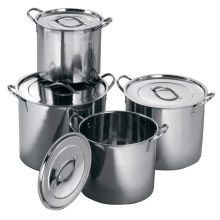 Amazon Vendor Deep Stainless Steel Casserole Cooking Stockpot