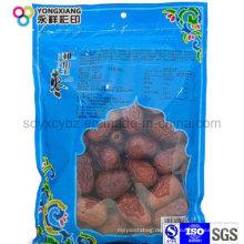 Getrocknete Fruchtplastikpaket der Lebensmittelqualität