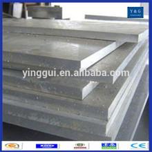Prix de la feuille d'alliage d'aluminium marine China 5052