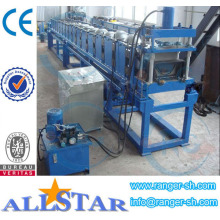 China Half Round Gutter Making Machine
