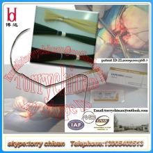 Catgut chromic absorbible del boda, paquete estéril de la sutura, propiedades médicas del material del pegamento y de la sutura