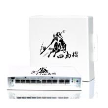 Interruptor POE para exteriores de 48V 96W y 8 puertos