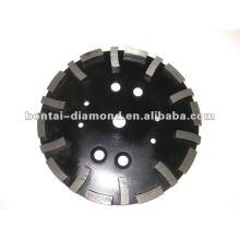 Discos abrasivos diamantados de 250mm para hormigón