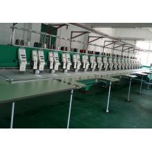 19 têtes de bobinage de machine de broderie mixte plate