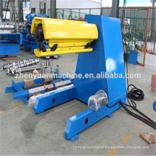 China made good color steel sheet decoiling machinery for processing line